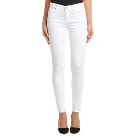 7 For All Mankind Denim - 7 For All Mankind Skinny Gwenevere white Jeans